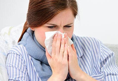 tips bij verkoudheid loopneus