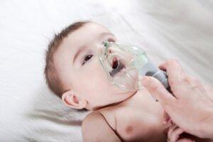 vernevelen bij baby's